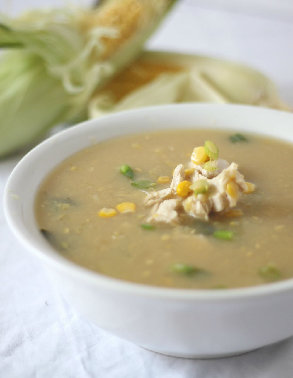 Chicken & Sweetcorn Soup jwill be on your table quicker than you can order a serve from your local takeaway.