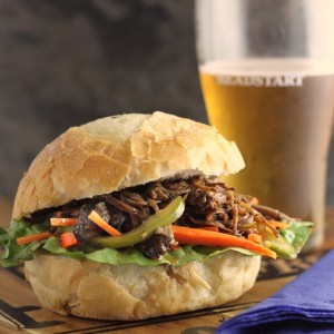 Slow Cooker Spiced Coffee Beef
