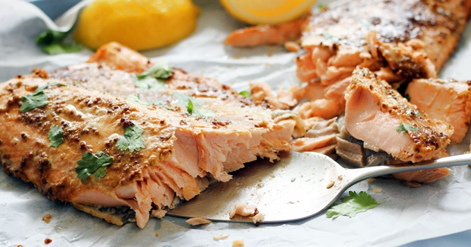 Spiced Side of Salmon 680