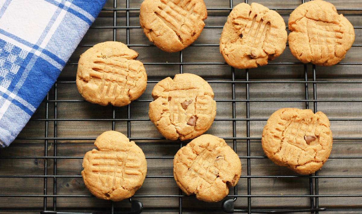 Easy Peanut Butter Biscuit 2